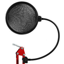 Microphone Wind Screen Pop Filter/ Swivel Mount / Mask Shied For Speaking Record