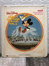 CED Video Disc - Disney Cartoon Parade Volume 4