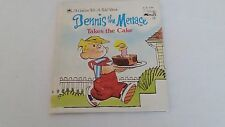 1987 Dennis the Menace Takes the Cake Golden Tell-a-Tale Book by Diane Namm