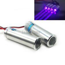 2pcs 405nm 250mW Blue/Violet Fat Beam Dot Laser Diode Module Bar KTV Stage Light