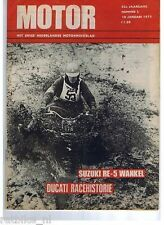 MO7502-DUCATI RACE HISTORY,SUZUKI RE5 WANKEL,TRIAL BRED