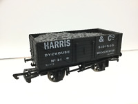Dapol/Antics OO Gauge 7 Plank Wagon Harris & Co, Woodchester