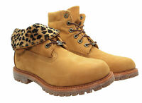 Timberland A13Z0 Wl Authentics Roll Top Women's Boots Camouflage Wheat Yellow