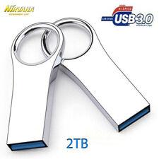 2TB USB 3.0 Flash Drive Metal Data Storage Pen Drives Flash Memory Stick UDisk