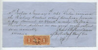 1863 $1500 note 60 cent imperf inland exchange EMU R64a [y3727]