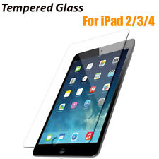 Tempered Glass Guard Screen Protector Saver For Apple iPad 234 4th Generation