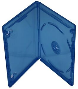 New Bluray Replacement 12mm 1-Disc Blu-Ray Single W/ Logo Premium Movie Cases