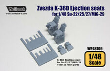 Wolfpack WP48106, K-36D Ejection seats for Su-17/22/25/27/MiG-29, SCALE 1/48