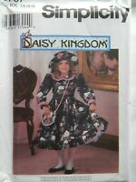 Dress Hat Purse Modest 7 8 10 12 Sewing Pattern Simplicity 9707 Daisy Kingdom