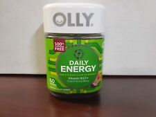 Olly Energy Daily Dietary Supplement Gummies - 60CT, Exp 1/2021