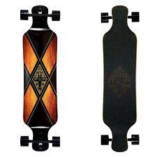 """Atom Longboard Skateboard Professionale Drop Deck 39"""" Woody X"""