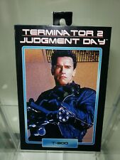 """NECA Terminator 2 Judgment Day T-800 Ultimate Deluxe Arnold 7"""" Action Figure USA"""