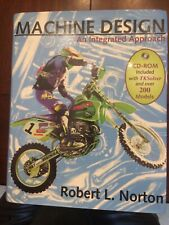 Machine Design An Integrated Approach Like NEW! Norton 1998 Revised Ed CD-ROM