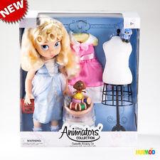 "Disney Animators' Collection 16"" Cinderella Princess Doll Deluxe Set NEW & RARE"