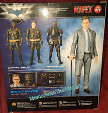Medicom Toy Mafex 79 Bruce Wayne The Dark Knight Trilogy Batman Begins Suit 1/12