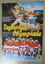 Filmplakat - Dschungel-Olympiade / Animalympics ( Steven Lisberger )