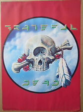 Rare Original GRATEFUL DEAD 1977 Kelley and Mouse POSTER 28 x 20 inches Headshop