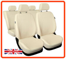 Leatherette car seat covers full set fit Alfa Romeo Mito Eco-leather beige