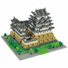 Nanoblock Nano Block Japan Himeji Jyo Castle Japanese National treasure Edo Peri