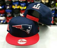 New England Patriots New Era Super Bowl LI 51 Rear Patch 9FIFTY snapback Hat Cap