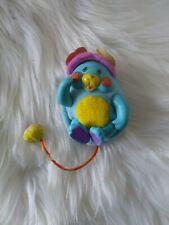 """Rare Mini Pocket Blue Popple Mattel Vintage 3"""" Puffball Vintage Plush 1986 1980s"""