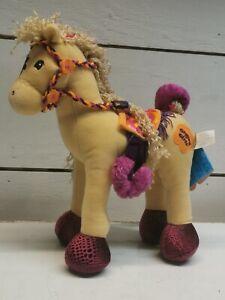 NWT GROOVY GIRLS Calypso Callie Plush Stuffed Posable Legs HORSE Pony A8