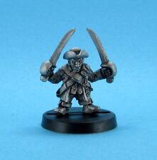 Dwarf Pirate - Mad Dog Morgan, DW110, 28mm metal miniature