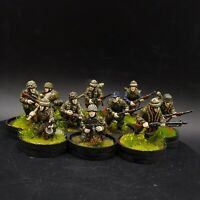 Pro Painted 28mm Bolt Action German fallschirmjager (Plastic) ×10 squad #3 Ww2