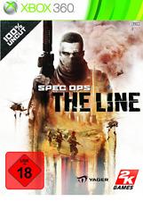Spec ops: the Line (Microsoft Xbox 360, 2012, DVD-box) nuevo embalaje original