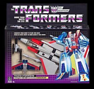 STARSCREAM Transformers G1 Reissue 2020 Exclusive Brand NEW AU