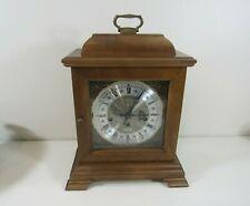 "Wood 15 1/2""h Hamilton ""Wheatland"" Bracket Foot Clock ~ For Parts or Repair"