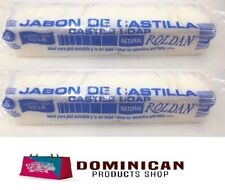 2 BAR 1/2 POUND Roldan Dominican Jabon Castilla Castile Soap sensitive baby SKIN