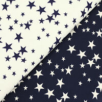 100% Cotton Fabric Fat Quarter Lucky Star Sky Patchwork Quilting Material VK99