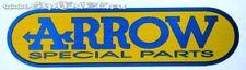 ARROW  EXHAUST SILENCER LOGO BADGE STICKER HIGH TEMP RESISTANT RACING BIKE