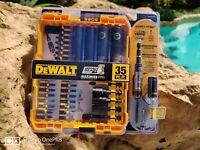 DeWALT DWA2T35IR FlexTorque 35-Piece Impact Ready Magnetic Screw Driving Set New