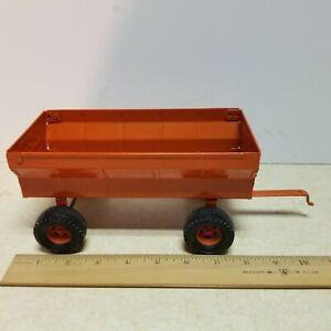 Toy Ertl 1/16  Allis Chalmers Orange Flair wagon #1