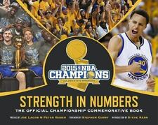 NIB Golden State Warriors: Strength in Numbers Championship Book FREE SHIPPING!