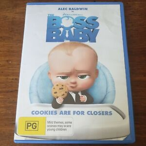 The Boss Baby DVD R4 Like New! FREE POST