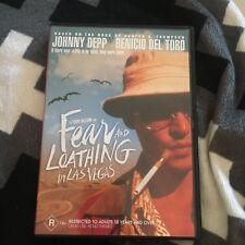 JOHNNY DEPP. FEAR AND LOATHING IN LAS VEGAS DVD.