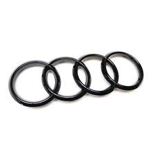 Audi Ringe Schwarz Glänzend 8T0853605 T94 Zeichen Emblem Black Edition Logo
