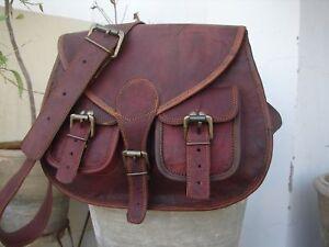 Bag Retro Leather Women Shoulder Handbag Purse Messenger  Satchel Cross Body New