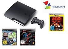 """Sony Playstation 3 Delgada 320Gb Consola"""" Plus 4 Juegos"""" (CECH-2504B) / Factura"""