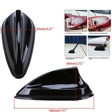 Hot ! Car Roof Radio Decor Shark Fin Antenna AM/FM 182mm x 83mm x 69mm Black