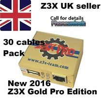 Z3X New Samsung Gold PRO Galaxy S7 S6 S5 S4 Note Unlock Flash Tool Box 30 Cable