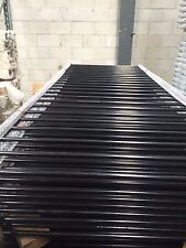 Pool Fence Panels 1200mm (H) x 2400mm (W) Black- Certified