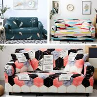 Printing Sofa Cover for Living Room Sofa Slipcovers Cotton Elastic Couch Cover