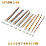 JST-XH 2.54 Stecker inkl. 15cm Kabel + XH Buchse 2 3 4 5 6 7 8 9 10 Pin 24AWG RC