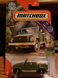 2020 Matchbox #33 '74 VOLKSWAGEN TYPE 181 green VW thing MBX JUNGLE