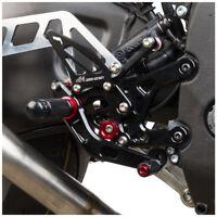 Adjustable Rearsets Footrests Footpeg Rear Set For Yamaha MT-10 FZ 10 2017 BLACK