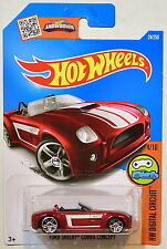 HOT WHEELS 2016 HW DIGITAL CIRCUIT FORD SHELBY COBRA CONCEPT #4/10 RED